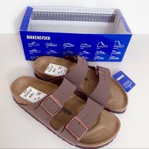 Birkenstock Arizona Sandals In Mocca Size 40 NWT